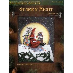 Santas: Starry Night (9781932368048): Sigrid Wynne Evans: Books