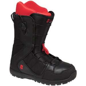 Forum Musket Snowboard Boot   Mens Black N Blood, 9.5