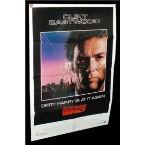 : Sudden Impact ORIGINAL MOVIE POSTER CLINT EASTWOOD: Everything Else