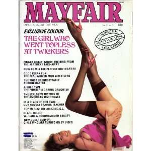 MAYFAIR MAGAZINE VOL. 17 NO. 3: PAUL RAYMOND: Books