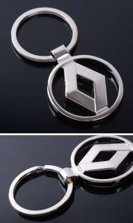 RENAULT Car Logo Standard Zinc Alloy Metal Key Chain Holder Ring