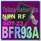 Siemens   BFR93A 6GHz NPN Wideband Transistors   5pcs