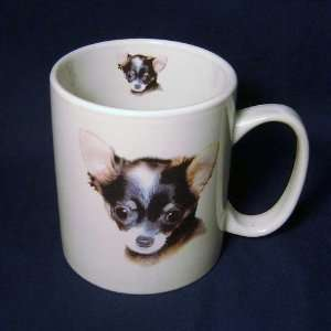 Cute Chihuahua Puppy Dog Jumbo 14 Ounce Coffee Mug