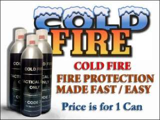 COLD FIRE   FIRE PREVENTION 13.5OZ ALL SEASON FREE S&H
