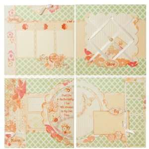 Butterfly 12x12 Page Kit by Quick Quotes Arts, Crafts & Sewing