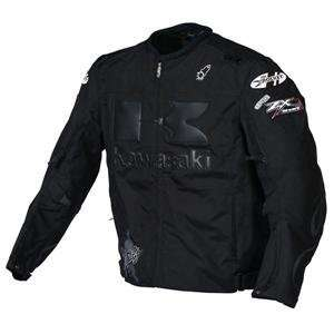 Joe Rocket Kawasaki Industry Jacket   2X Large/Black/Black