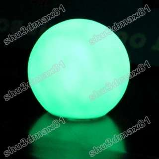 LED Multi Color Change ball Light night lamp Decoration 1916 Features