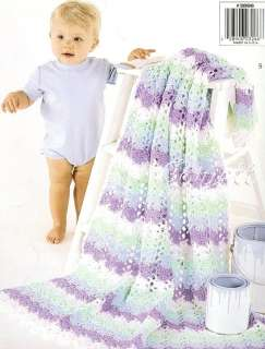 Color Me Cute Baby Afghans crochet patterns