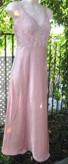 Victorias Secret Satin and Lace Nightgown, Gown and Robe Set S