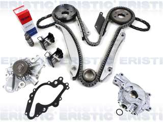 CHRYSLER DODGE COMPLETE TIMING CHAIN KIT W/ OIL PUMP EER 02 03 04
