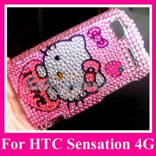 Hello kitty Bling Case Cover HTC Sensation 4G z710e IL