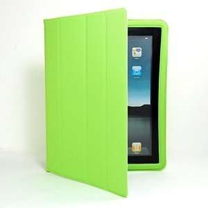 Cosmos LIGHT GREEN ultra slim PU Faux LEATHER smart Case