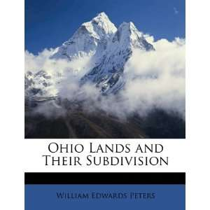 and Their Subdivision (9781149018415) William Edwards Peters Books