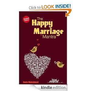 The Happy Marriage Mantra: Dr. Geeta Maheshwari:  Kindle