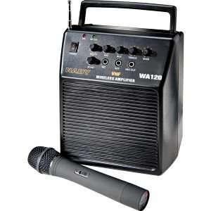 WA 120HT Single Channel VHF Wireless Portable PA System