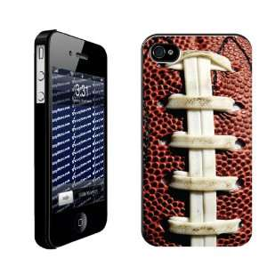 Football iPhone Design Football Laces   iPhone Hard Case