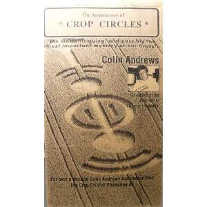 The Appearance of Crop Circles   Colin Andrews   VHS Video