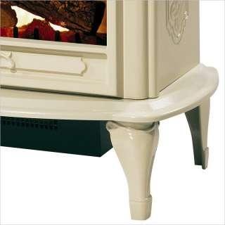 Celeste Electric Stove Heater Cream Fireplace 781052042339