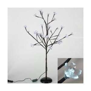 LED Lighted Cherry Blossom Flower Tree Branch Spray