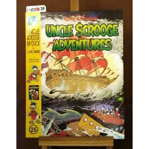 Walt Disneys Uncle Scrooge Adventures Uncle Scrooge McDuck #25: The