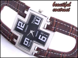 NEW* ladies cross FASHION watch GIFT UNIQUE womens