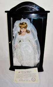 Ashley Belle BRIDE Doll, Mint in Case with COA