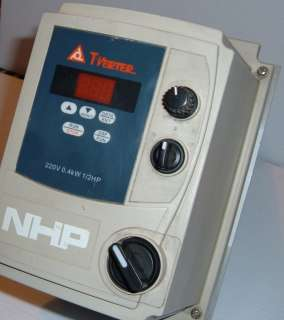 Verter E2 2P5 H1FN4S Variable Speed Drive used
