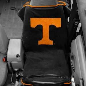 NCAA Tennessee Volunteers Black Towel Car Seat Cover Automotive
