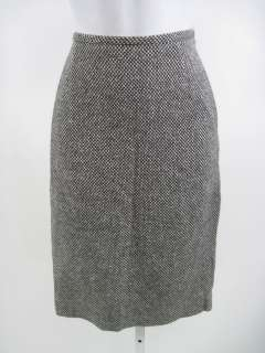MICHAEL KORS Black White Wool Skirt Sz 6