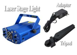 Mini G&R DJ Laser Stage Lighting Light Disco Party USA