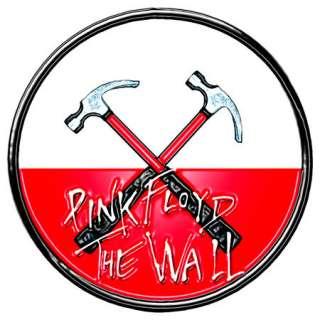 PINK FLOYD WALL HAMMERS PIN BADGE METAL ROGER WATERS