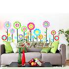 Colorful Flower Room Mural Wall Paper Sticker Decal DIY items in