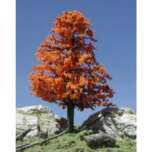 Deciduous Trees w/Real Wd, October Orange 2 4 (3) TLS219