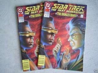 1991 DC Comics Star Trek TNG Annual Comic Books #3