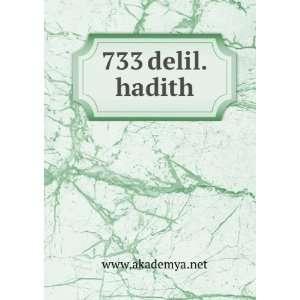 733 delil.hadith www.akademya.net Books