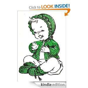 Scallop Ruffle Baby Set Layette Vintage Crochet Pattern EBook Download