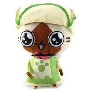 Monster Hunter 2011 Plush Strap: Green Dress Airu: Toys & Games