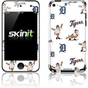 Skinit Detroit Tigers   Paws   Repeat Vinyl Skin for iPod