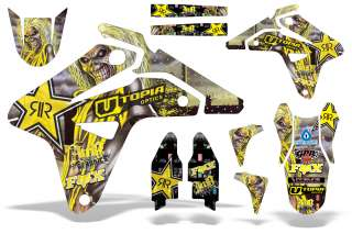 AMR MX GRAPHICS DECAL KIT SUZUKI RMZ 450 RM RMZ450 2007