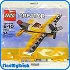 Lego 7808 Creator Mini Yellow Airplane   NEW