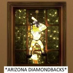 20 MLB Arizona Diamondbacks Lighted Outdoor Baseball Player