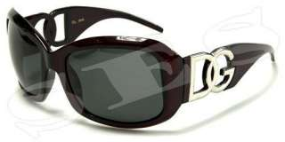 DG Eyewear Sunglasses Womens Polarized Dark Red