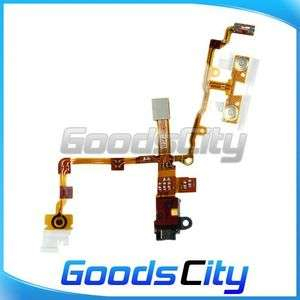Black Headphone Audio Jack Ribbon Flex Cable For iPhone 3G US