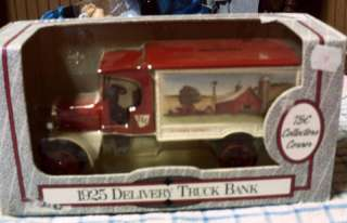 1925 Delivery Truck Bank  Die Cast
