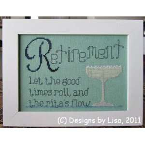 Retirement Ritas   Cross Stitch Pattern: Arts, Crafts