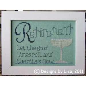Retirement Ritas   Cross Stitch Pattern: Arts, Crafts