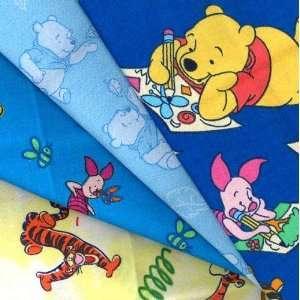 Disney Fat Quarter Pooh & Tigger By The Each Arts, Crafts