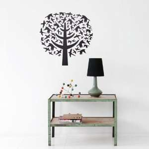 Bird Leaves Wall Sticker by Ferm Living