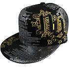 Hip Hop Urban Wear Cap Hat Fitted Black Cap fitted NY