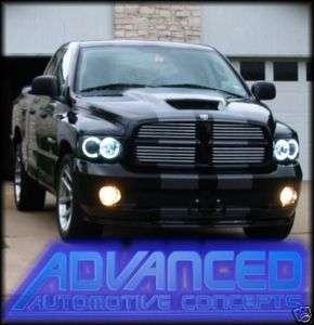 02 05 Dodge RAM Truck Headlight hid HALO KIT Demon Eyes